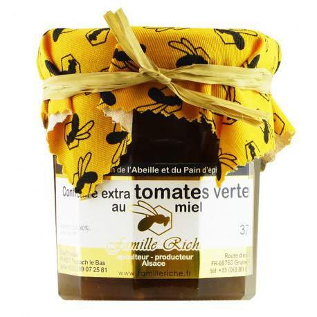 Confiture extra de tomates vertes