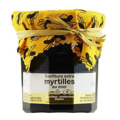 Confiture extra de myrtilles