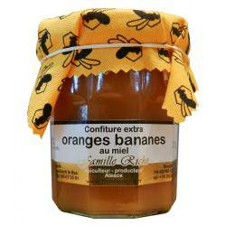 Confiture extra orange banane