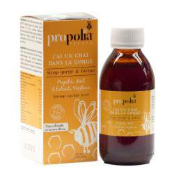 Sirop bio propolis miel pin citron - Propolia