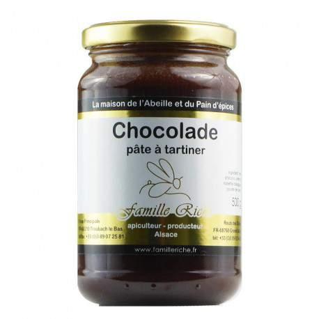 Chocolade, noisette et chocolat