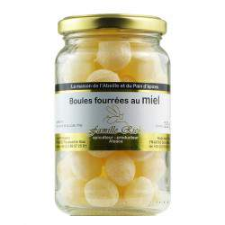 Bonbons au miel boules fourrées