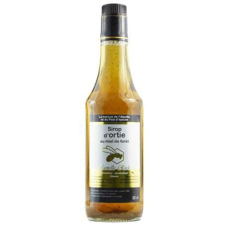 Sirop d'ortie au miel de forêt